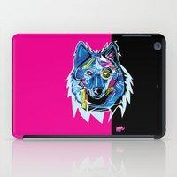 Lazer Wolf iPad Case