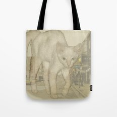 Ghost Kitty Tote Bag