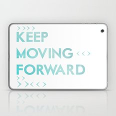 keep moving forward.. meet the robinsons disney movie quote Laptop & iPad Skin