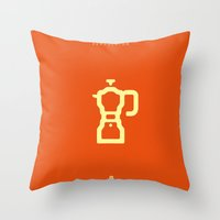Coffee: The Percolator Throw Pillow