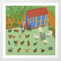 Touro Street, New Orlean… Art Print