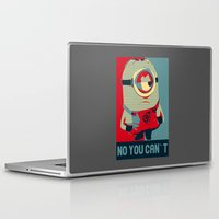 obama Laptop & iPad Skins featuring Minion Obama by Skorretto