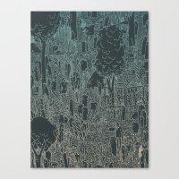 enviro-mental Canvas Print