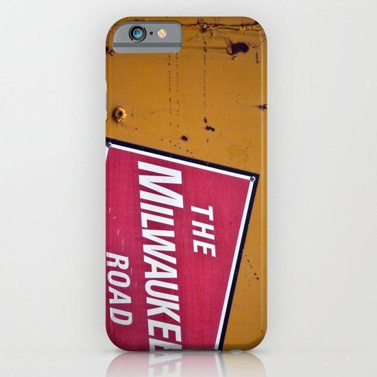 The Milwaukee Road iPhone & iPod Case