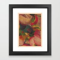 SUPERNOVA / PATTERN SERIES 005 Framed Art Print