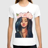 princess T-shirts featuring Princess by Jaleesa McLean