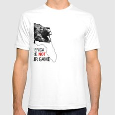 Fair Game Mens Fitted Tee SMALL White