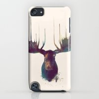 iPhone Cases featuring Moose by Amy Hamilton
