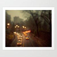 Taxicab Confessions - Ne… Art Print