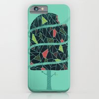 iPhone & iPod Case featuring The Winter Tree by Hector Mansilla