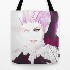 Ethno fashion illustration Tote Bag