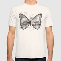 Butterfly Effect Mens Fitted Tee Natural SMALL