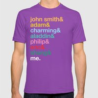 Stand Still Look Pretty Mens Fitted Tee Ultraviolet SMALL