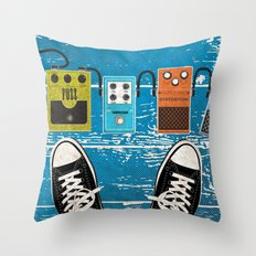 Analog Throw Pillow