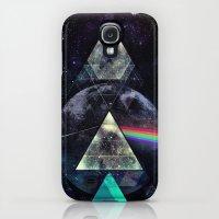 Galaxy S4 Cases featuring LYYT SYYD ºF TH' MYYN by Spires