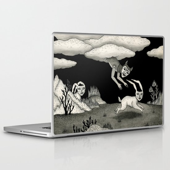 The Abduction Laptop & iPad Skin