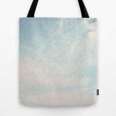 Beach Hut Sky  Tote Bag