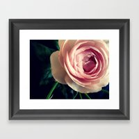 Stop To Smell The Roses … Framed Art Print