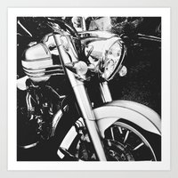 Harley I Art Print