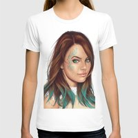 turquoise T-shirts featuring Turquoise by Lara Cremon