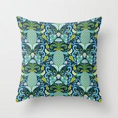 Ambrosia Blue Throw Pillow