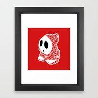 ShyGuy #CrackedOutBadGuy… Framed Art Print