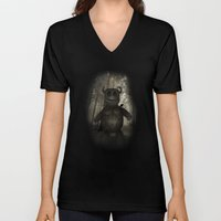 In the forest. Unisex V-Neck