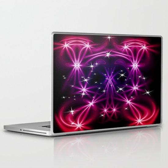 Abstract stars Laptop & iPad Skin