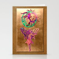Bronze Fairy Stationery Cards