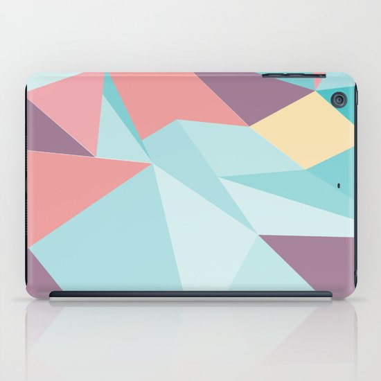Facet vector II iPad Case