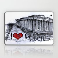 I Love Athens Laptop & iPad Skin