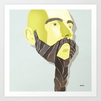 Braidy Art Print