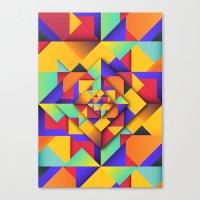 Shapes II Canvas Print