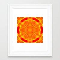 Kaleidoscope 'RK1 SQ' Framed Art Print