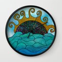 Oceania Wall Clock