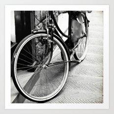 Bike Detail Art Print