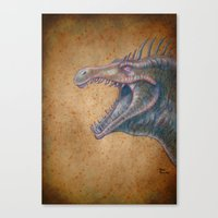 Medieval Monster XVI Canvas Print