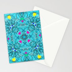 Crazy Cogs blue Stationery Cards