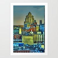 Montreal City II Art Print