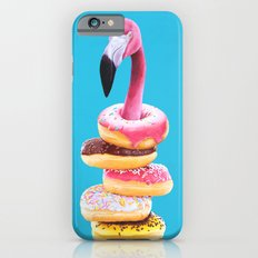 Famished Flamingo  iPhone 6 Slim Case