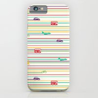 iPhone & iPod Case featuring Keep Rolling by Dianne Delahunty