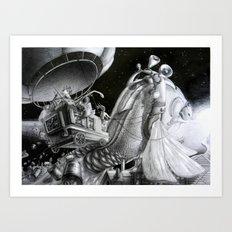 Fish of destiny Art Print