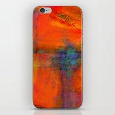 Orange - Abstract Digital Painting iPhone & iPod Skin