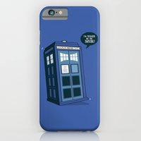 iPhone & iPod Case featuring Bigger on the Inside by Boots