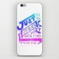 Feelin' It iPhone & iPod Skin
