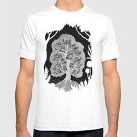 The Hypnowl Council Mens Fitted Tee White SMALL