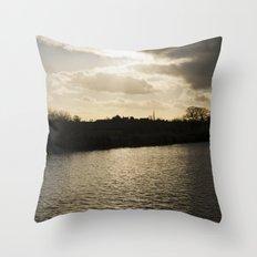 village... Throw Pillow