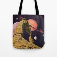 Space Rock II Tote Bag