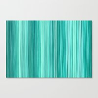 Ambient 5 Teal Canvas Print