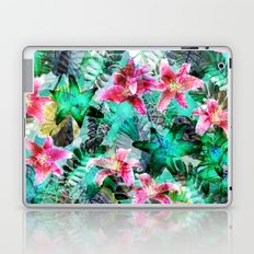 Jungle Lilies Laptop & iPad Skin